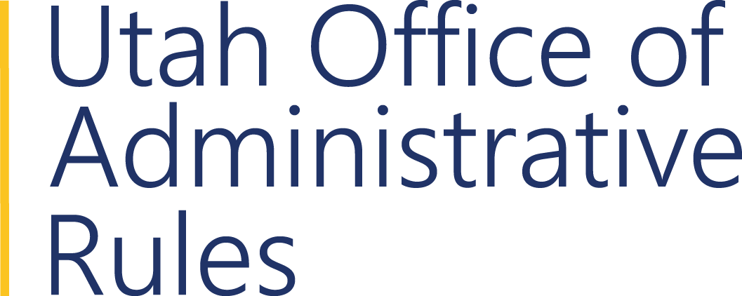 Utah Office of Administrative Rules. Administrative rules publication, information, and news